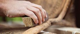 sbiancatura-legno-pulizia